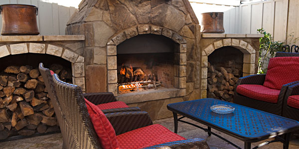 Moonshine Patio Fireplace