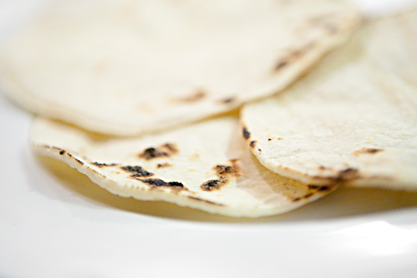 Scorched Corn Tortillas